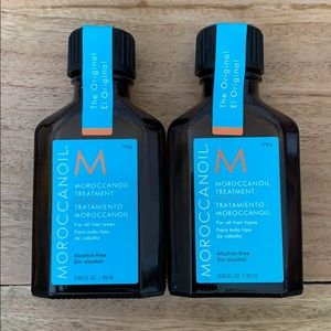Moroccan Oil treatment 0.85oz x2